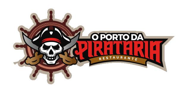 Logomarca O Porto da Pirataria